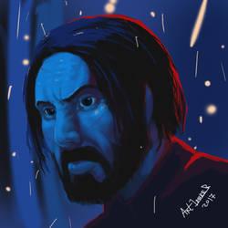 John Wick by Art1derer