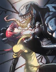 Venom and fan char by Art1derer