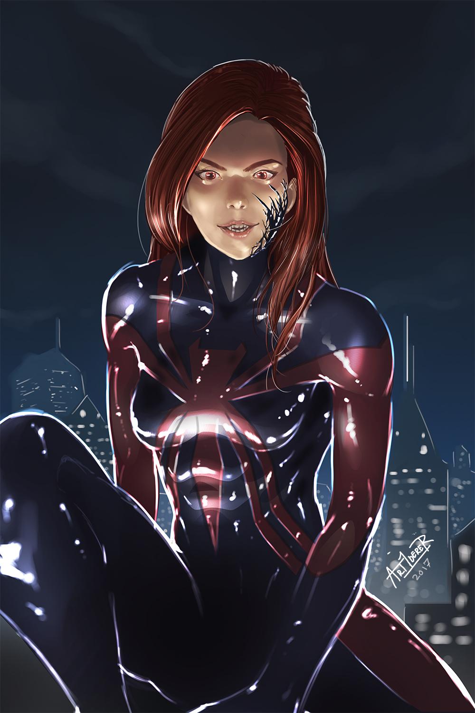 Ultimate Spider Woman - Mary Jane by Art1derer on DeviantArt