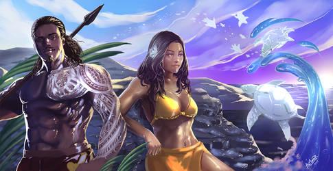 Islander by Art1derer