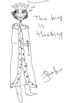 Thin King is thinking (that Sin King is sinking)