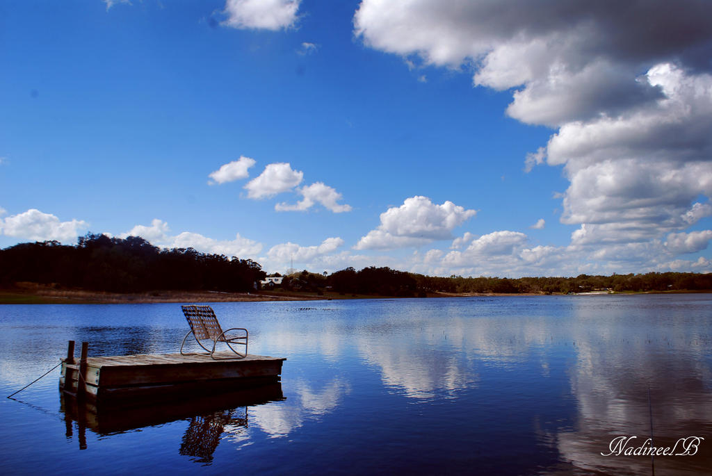 blue skies ahead by nadineelc