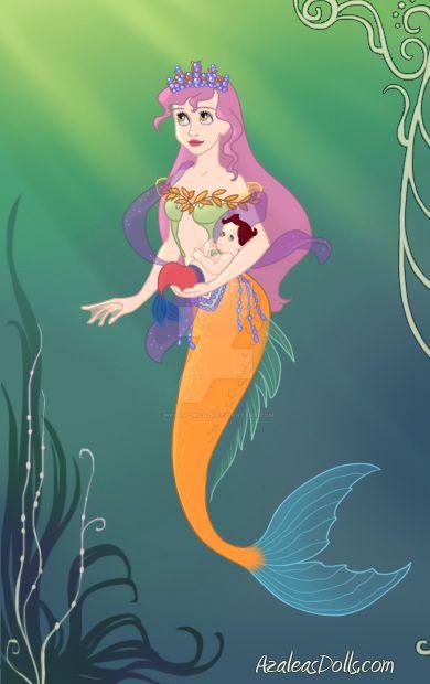 Rainbow Mermaid by writinchica2k