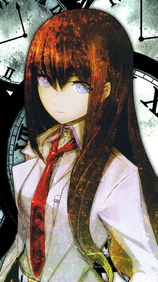 Steins Gate - Makise Kurisu - Smartphone Wallpaper by ...