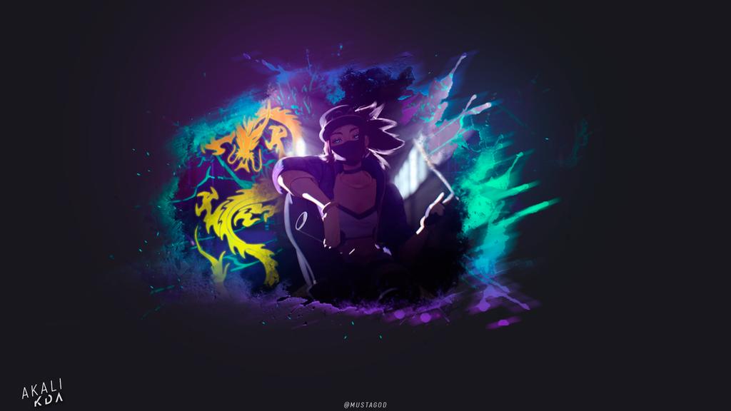 KDA/ AKALI by AlexMust4ng