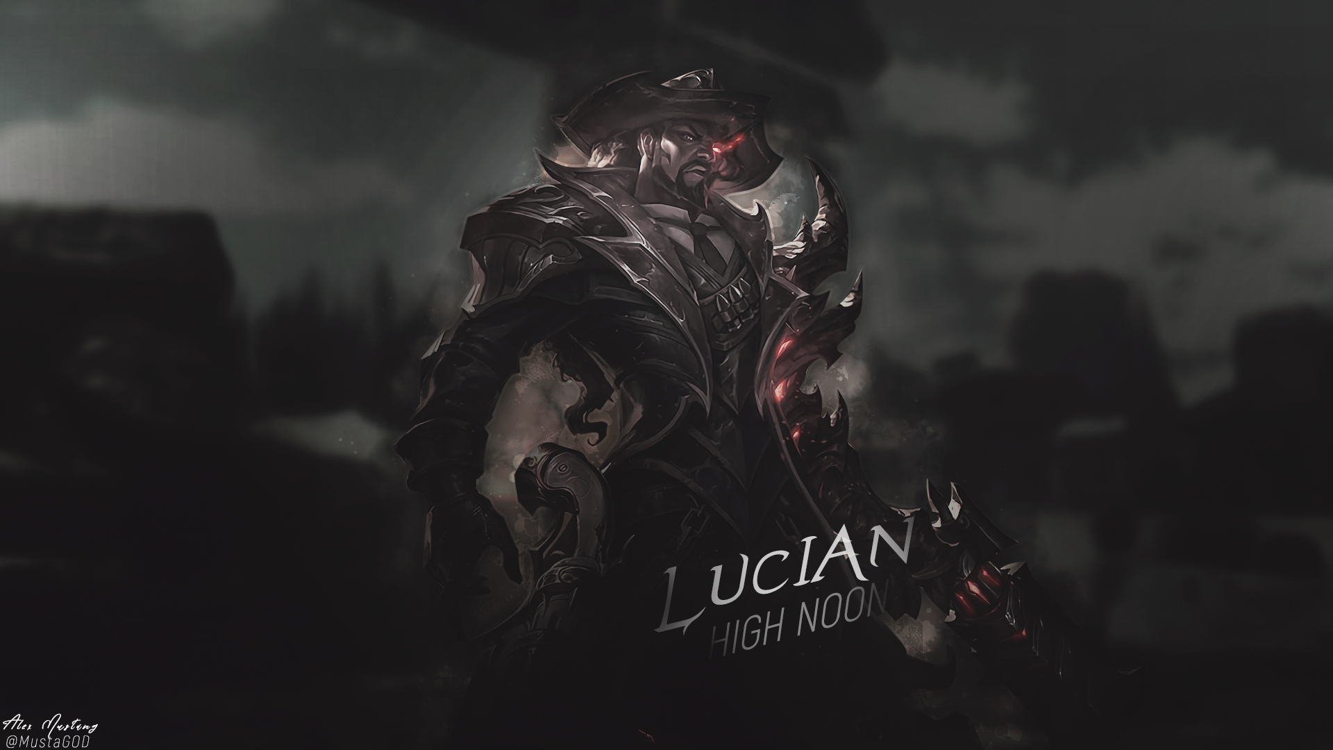 Lucian | High Noon | Dark by AlexMust4ng