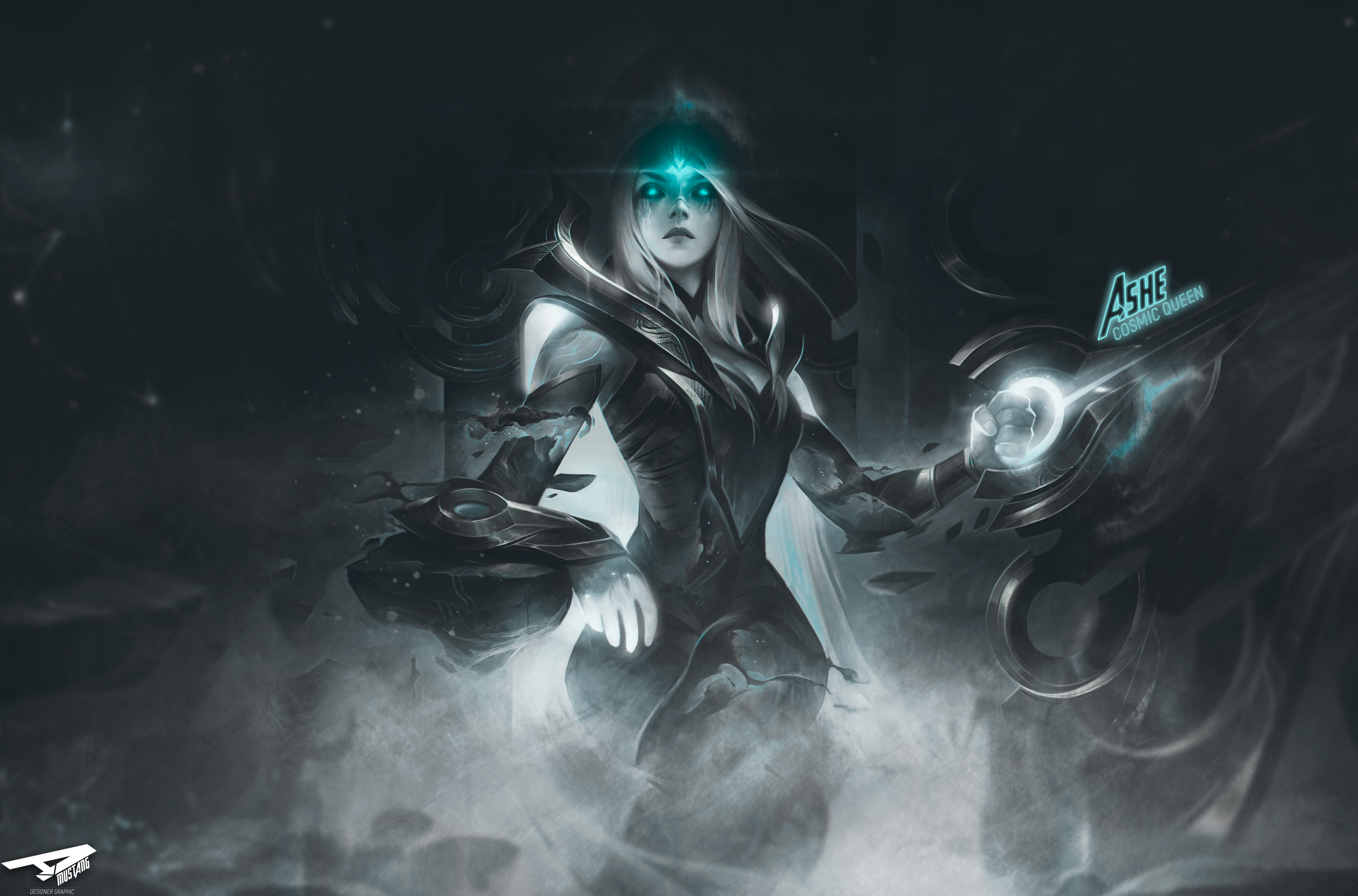 Ashe | Cosmic Queen by AlexMust4ng