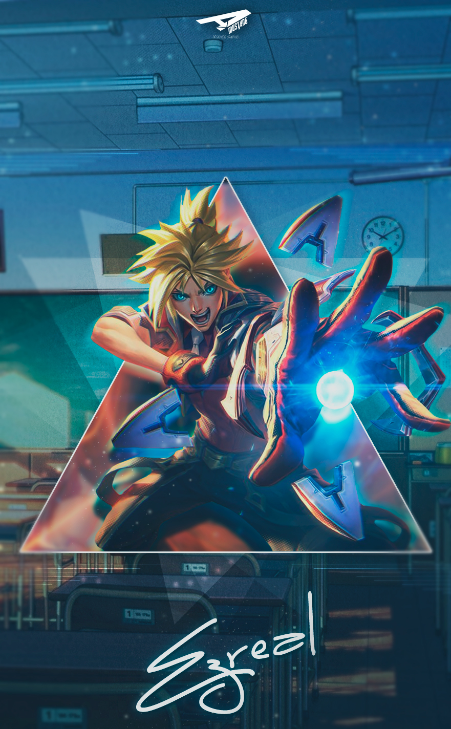 Ezreal | Battle Academy by AlexMust4ng