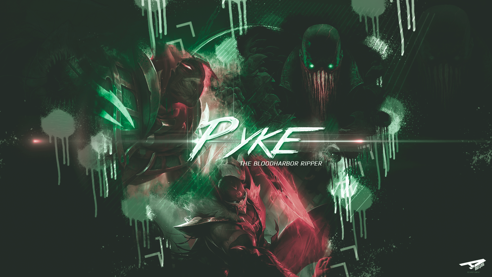 Pyke | Paint Green by AlexMust4ng