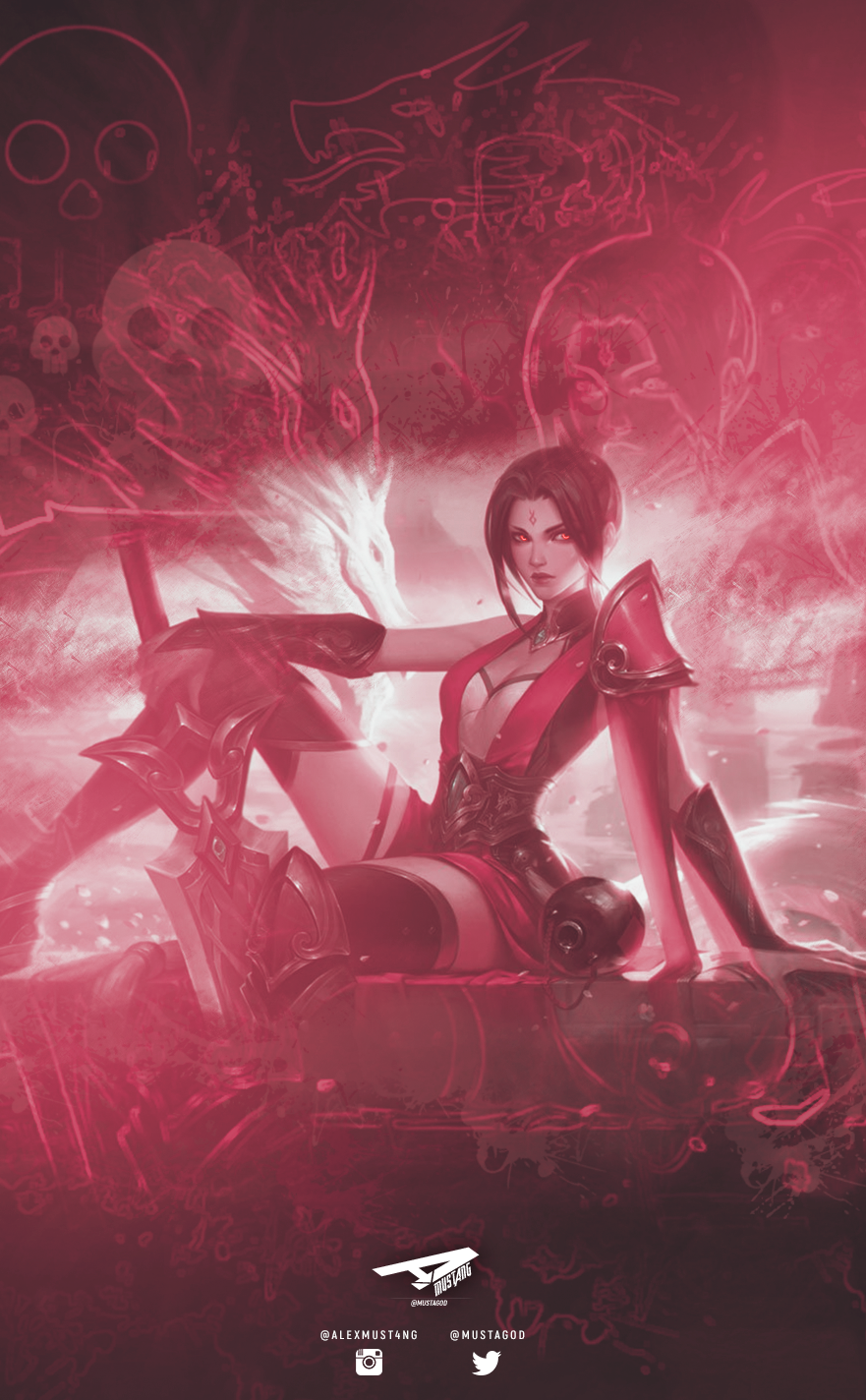 Riven | Red Dragon | Smartphone by AlexMust4ng