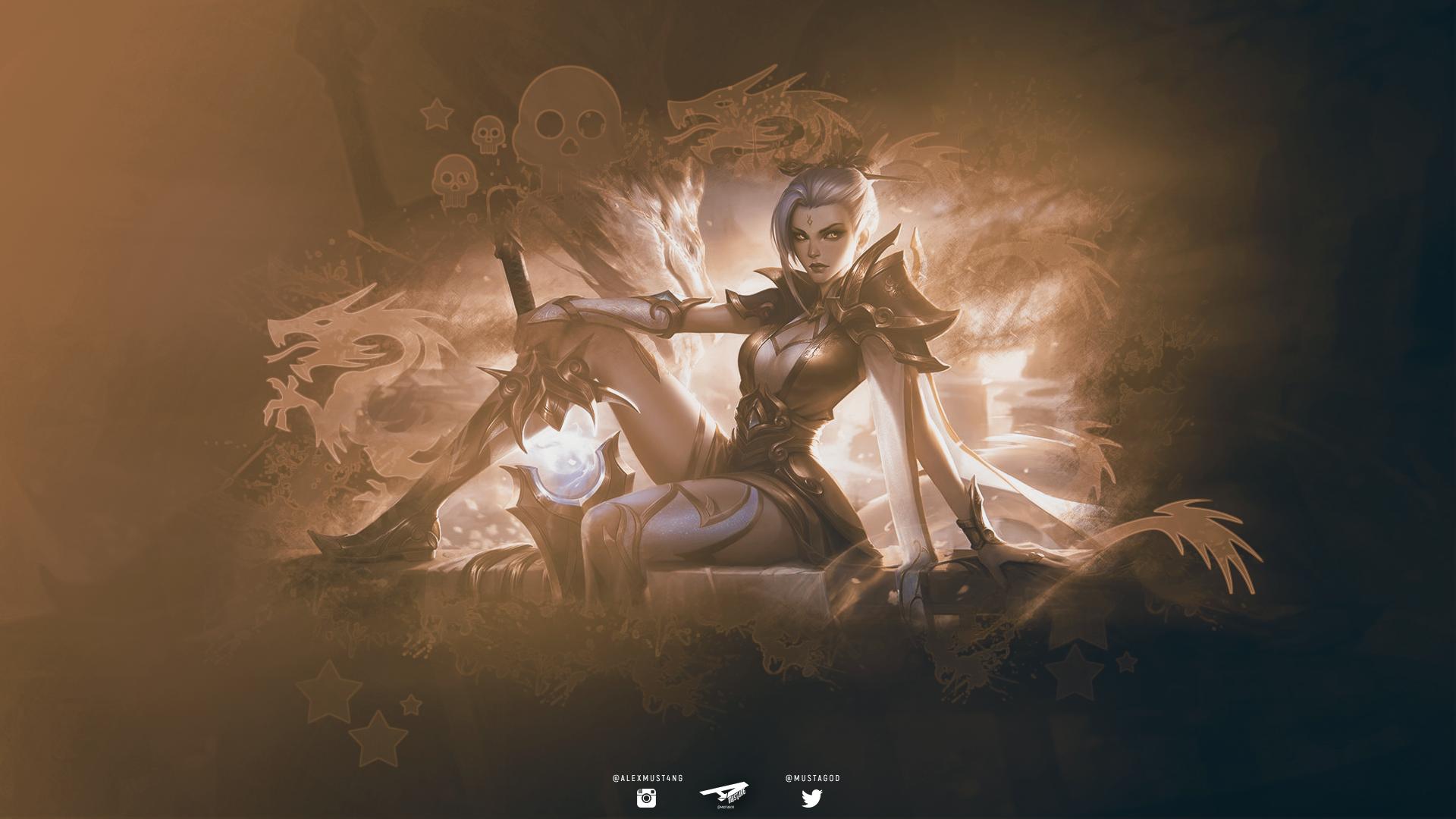 Riven | Gold Dragon by AlexMust4ng