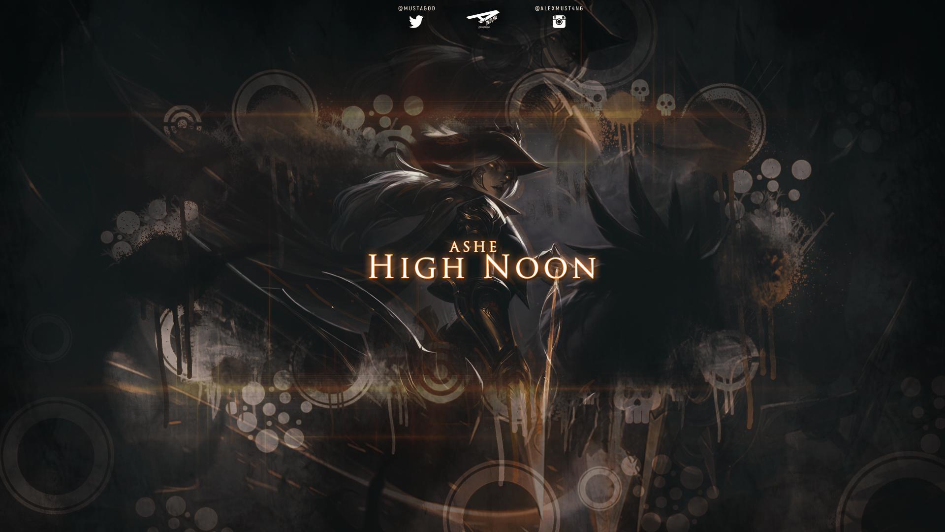 Ashe | High Noon by AlexMust4ng