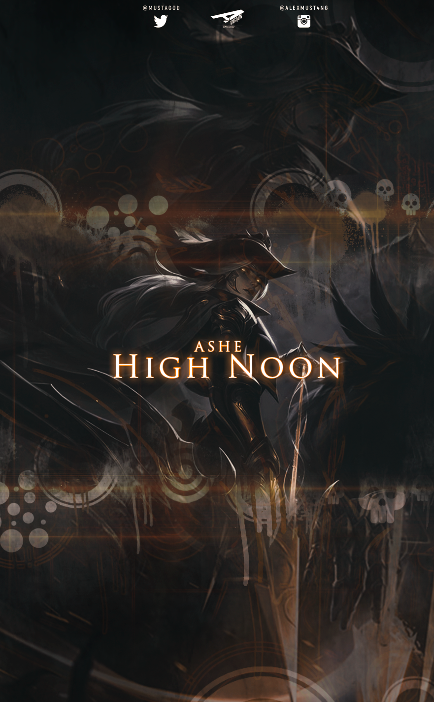 Ashe | High Noon | Smartphone by AlexMust4ng