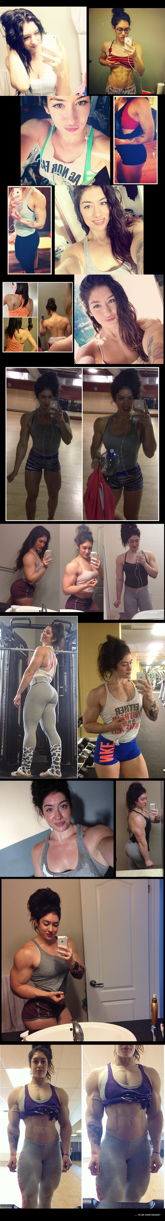 A Girl's Journey from Skinny to Buff ...and Beyond by stopwhereyouare