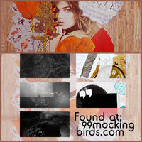 5 textures by 99mockingbirds