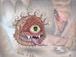 Baldur's Gate 2 - Beholder by Sarosna85