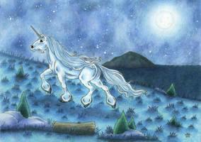 Tundra unicorn by Sarosna85