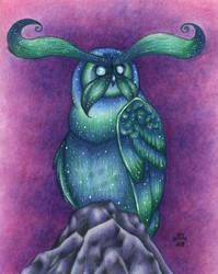 Warcraft - Scout owl by Sarosna85