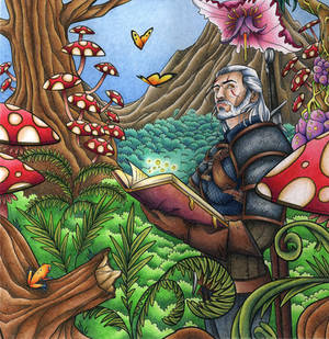 Witcher Coloring book - Fairytale