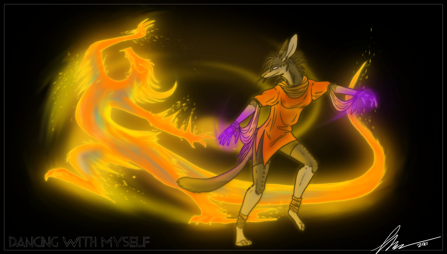 Dancing With Myself by NuclearLoop on DeviantArt