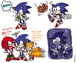 That 3D Sonic game with the Flickies
