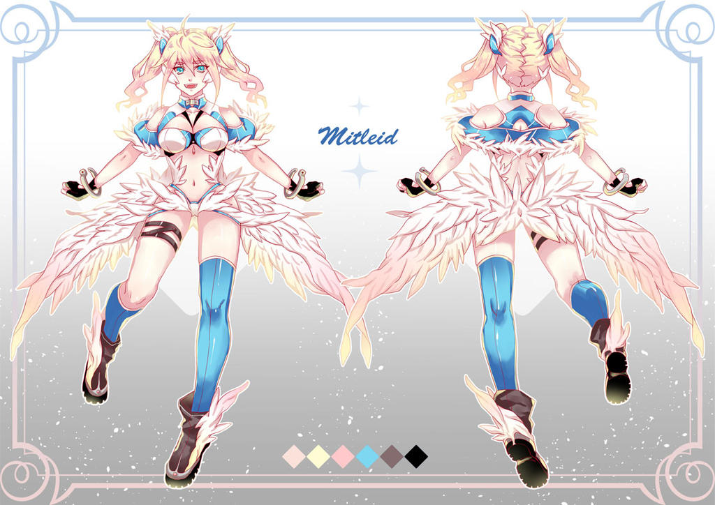 Character Design Commission Price : Character design commission by griffin on deviantart