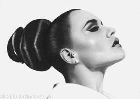 Jessie Ware - Ballpoint Pen by vitorjffg