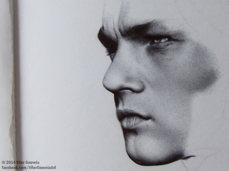 Leonardo DiCaprio - WIP4 - Detail by vitorjffg