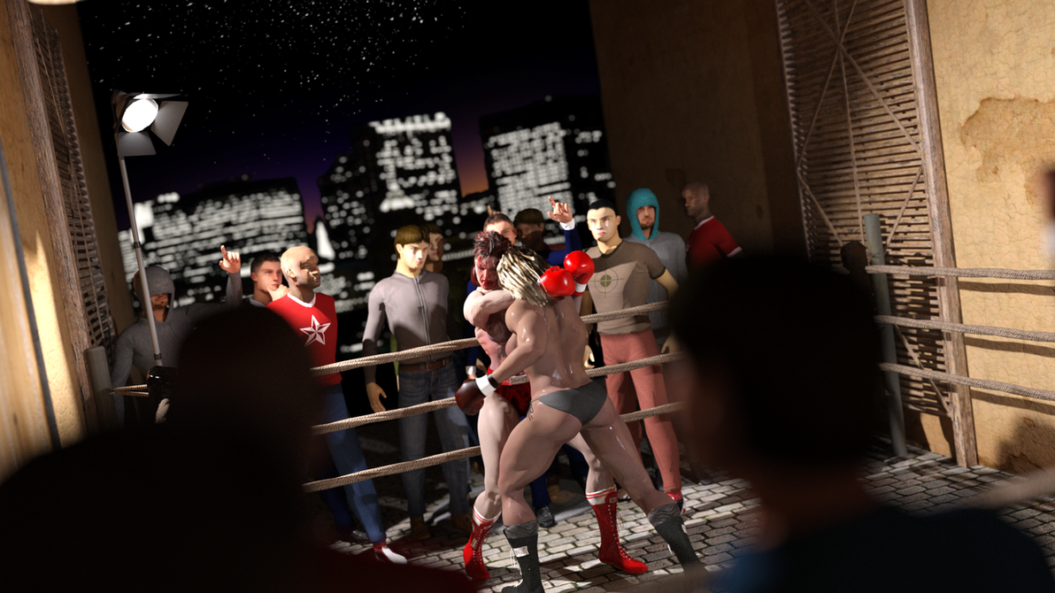 Back-Alley Fight by AFCombat