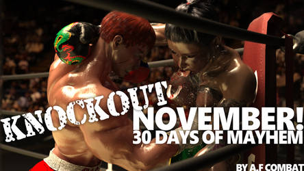 Now on Lulu: Knockout November, collected edition! by AFCombat
