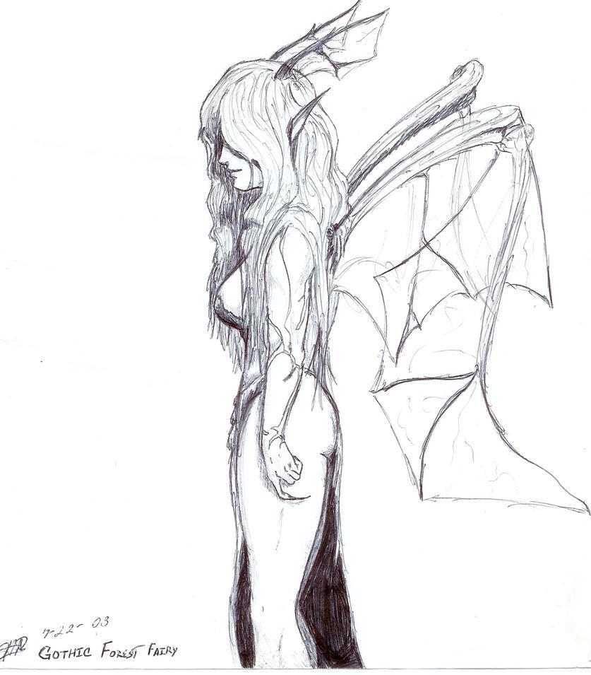 Evil forest fairy by thAnAtos8821 on deviantART