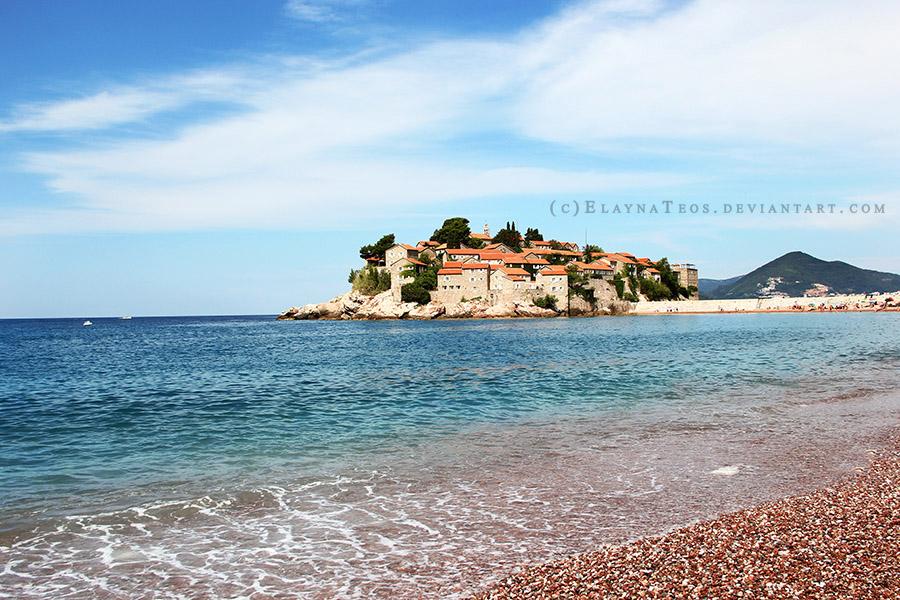 Montenegro. Sveti Stefan. by ElaynaTeos