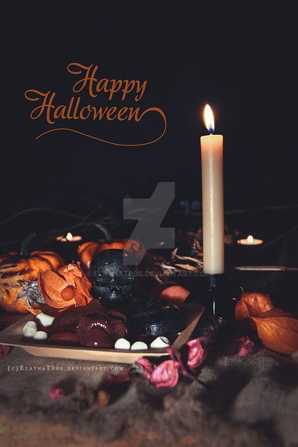 Happy Halloween! by ElaynaTeos