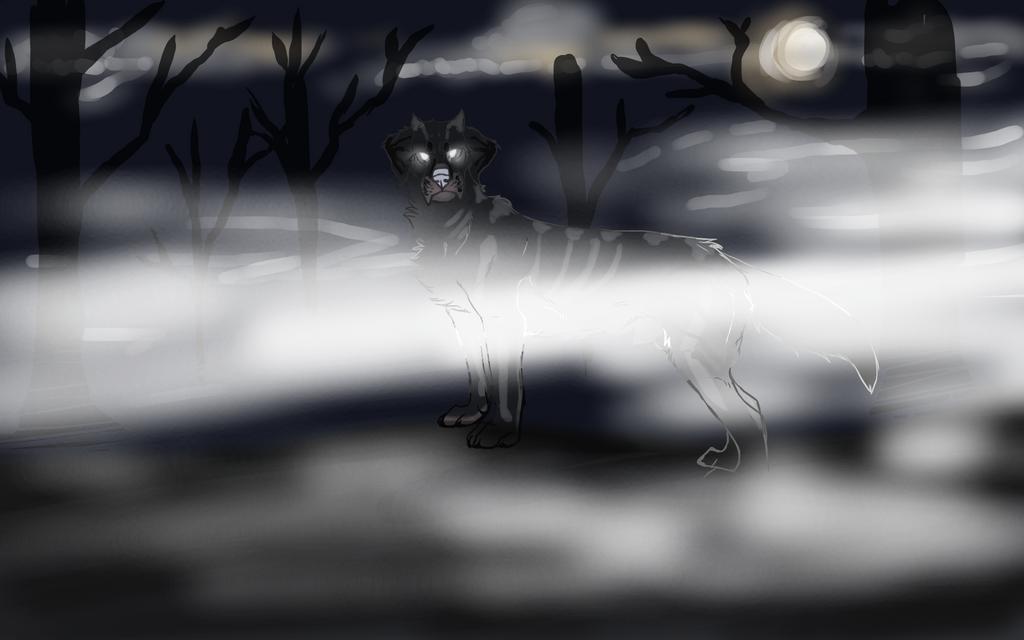 Grim, Grinning Ghost. by ShiaWolfe
