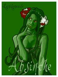 Absinthe WIP by Gloria-T-Dauden