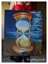 Autumn in the hourglass by Gloria-T-Dauden