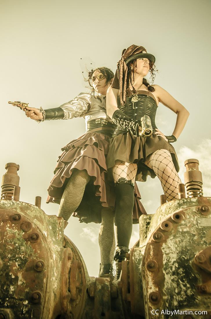 Steamgirls by Gloria-T-Dauden