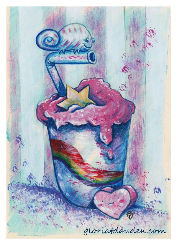 Sweet chameleon by Gloria-T-Dauden