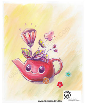 Tea time spring