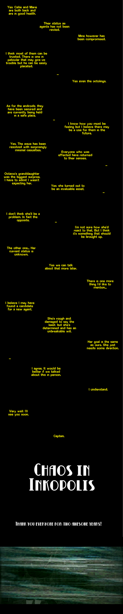 Chaos Epilogue: Mission Report by DarkMario2