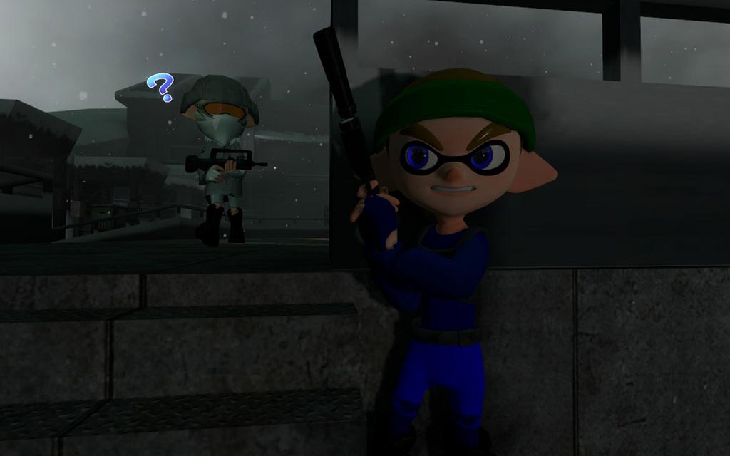 Metal Gear Squid by DarkMario2