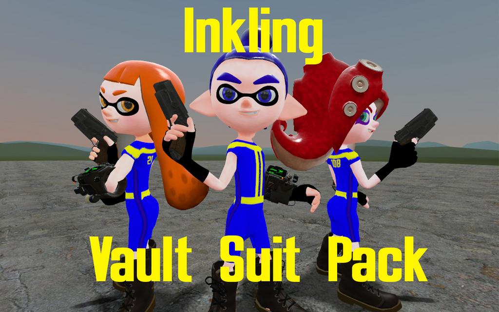 Inkling Vault Suit Pack by DarkMario2