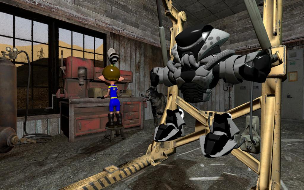 Power Armor by DarkMario2