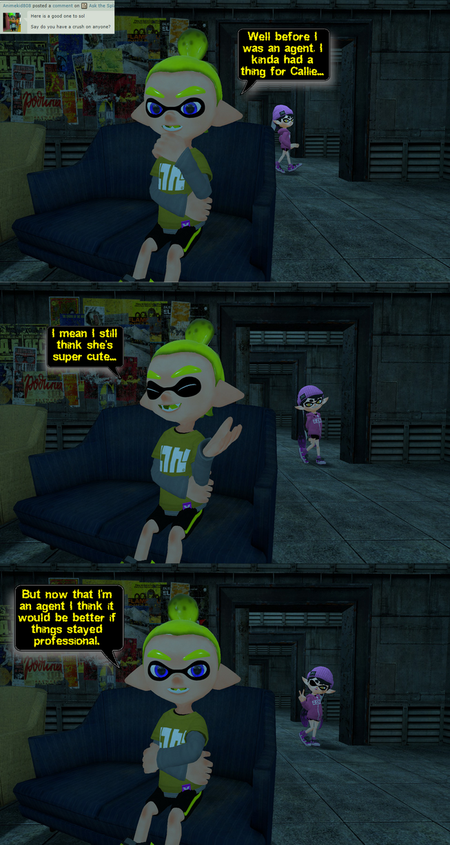 Ask the Splat Crew 1207 by DarkMario2