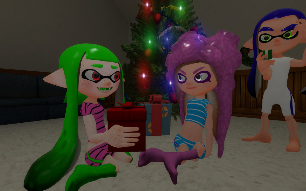 Gift Exchange by DarkMario2