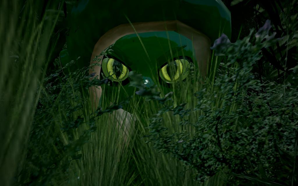 Predator in the Grass by DarkMario2