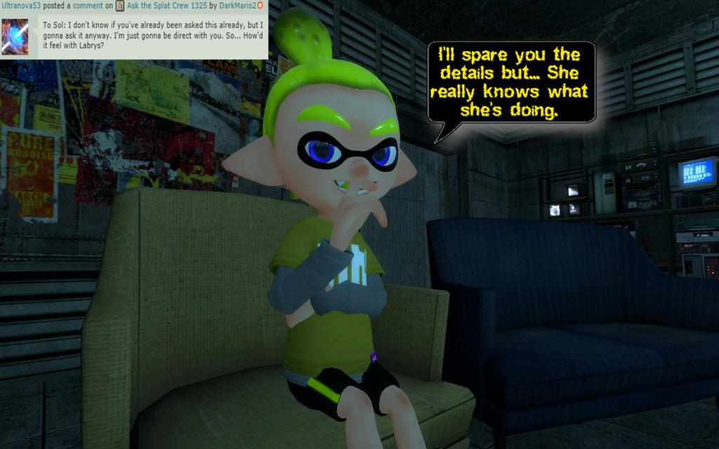 Ask the Splat Crew 1329 by DarkMario2