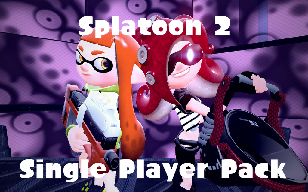 Splatoon 2 Single Player Pack by DarkMario2