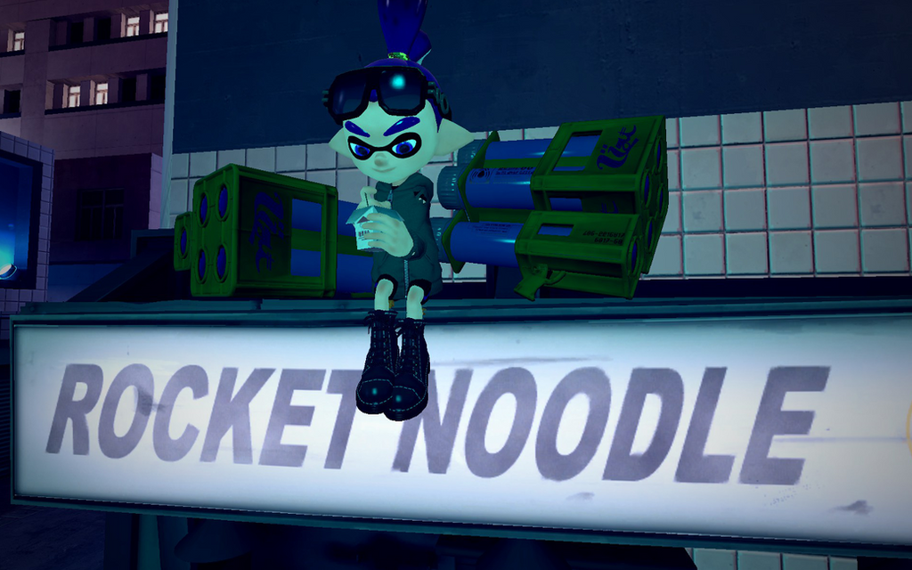 Rocket Noodle by DarkMario2