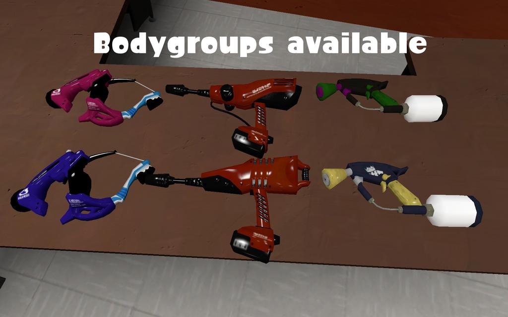 Duelie Bodygroups by DarkMario2